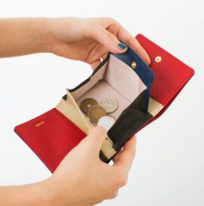 JOGGOレディース三つ折り財布