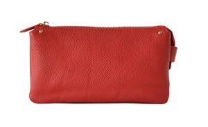 リアルレザーお財布バッグ