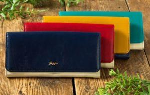 JOGGOレディースバイカラー財布