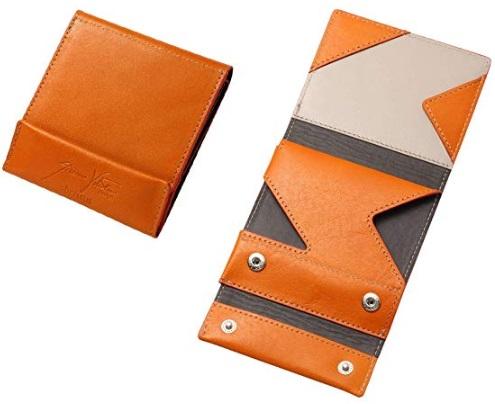 薄い財布オロビアンコオレンジ